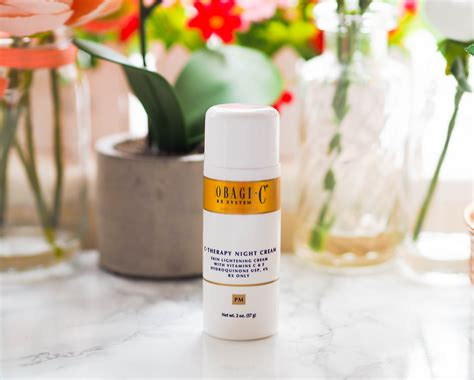 Obagi C-Therapy Night Cream Review - Beauty Geek UK
