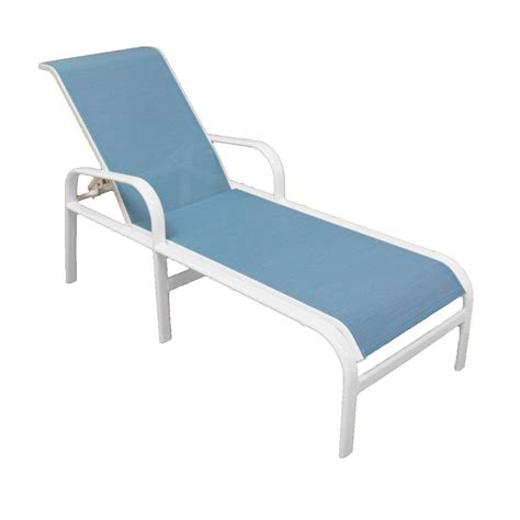 25 Collection of Outdoor Aluminum Chaise Lounges