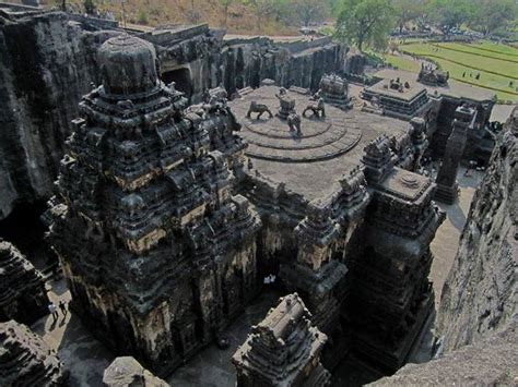 Kailash Temple - Indian Rock Cut Architecture - XciteFun