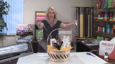 Premier Packaging - How to Make a Gift Basket - YouTube