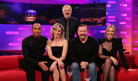 Who's on the Graham Norton show tonight? Ricky Gervais