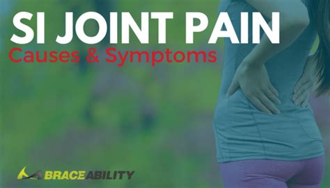 Suffering from SI Joint Pain? Know the Symptoms & Causes!