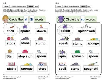 """Produce Consonant Blends """"Sp"""" and """"St"""": Lesson 4, Book 2"""