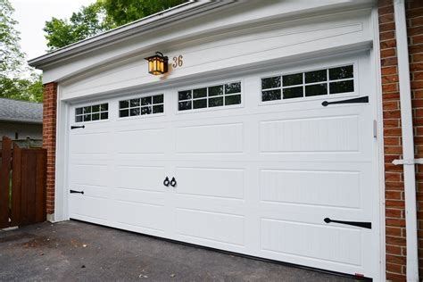 Improving Our Curb Appeal: A New Garage Door - Rambling