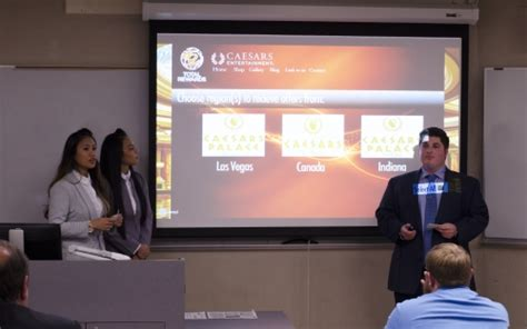 Students Tackle Real-World Challenges in Hospitality