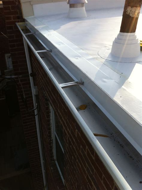 Flat roof for a row house in Alexandria, VA - Lyons