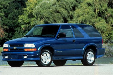 Auction Results and Sales Data for 2001 Chevrolet Blazer