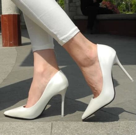 New 2015 Women Pumps Sexy Pointed Toe Thin High Heels