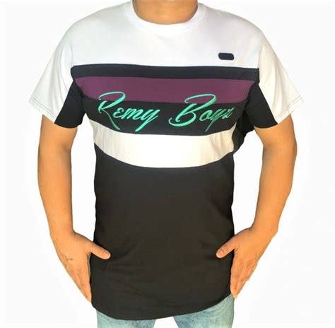 STRIPED TEE SHIRT BY REMY BOYZ   Turning Point a hot spot