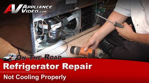 Refrigerator Repair & Diagnostic - Not Cooling Properly