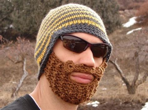Knit Your Own Sustainable Muslim 'Sunnah' Beard | Green