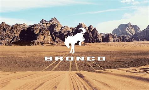 2021 Ford Bronco Reveal Date Set: See the Wrangler-Fighter