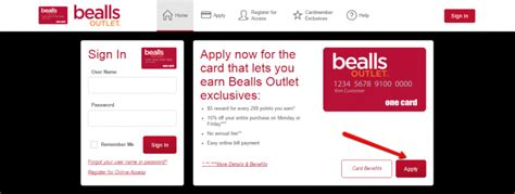 How to Apply to Bealls Outlet Credit Card - CreditSpot