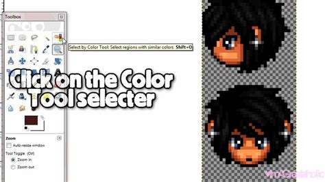-Request- How to recolor Graal heads on GiMP - YouTube