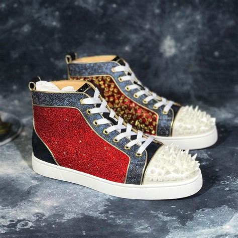 Luxury Brand Designer Shoes Mens Fashion Red bottoms For