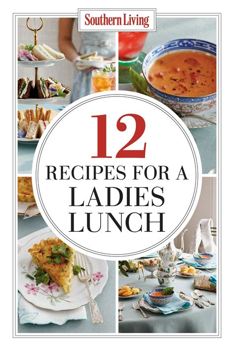 The New Ladies Lunch | Luncheon recipes, Luncheon menu