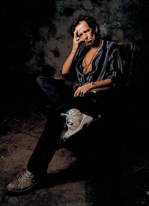 Portrait of Keith Richards - Graphis