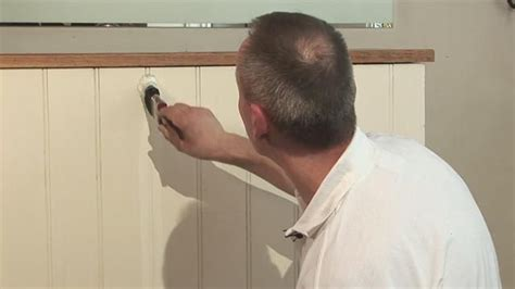 How+To+Paint+Wood+Paneling | great video on how to paint