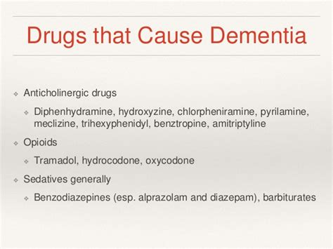 Dementia for internists by Dr