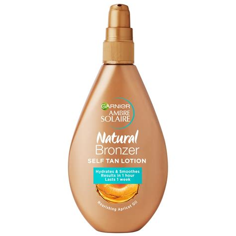 Buy Ambre Solaire Natural Bronzer Self Tan Lotion 150 mL