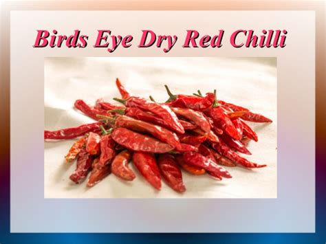 Type of Dry Red Chilli and Its Uses