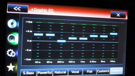 how to tune the audio settings sound and equilzer on your