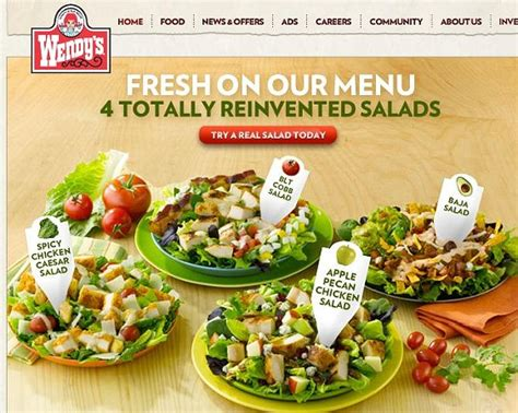 """Wendy's """"Reinvents"""" Salads as Fat-Soaked Calorie Bombs"""
